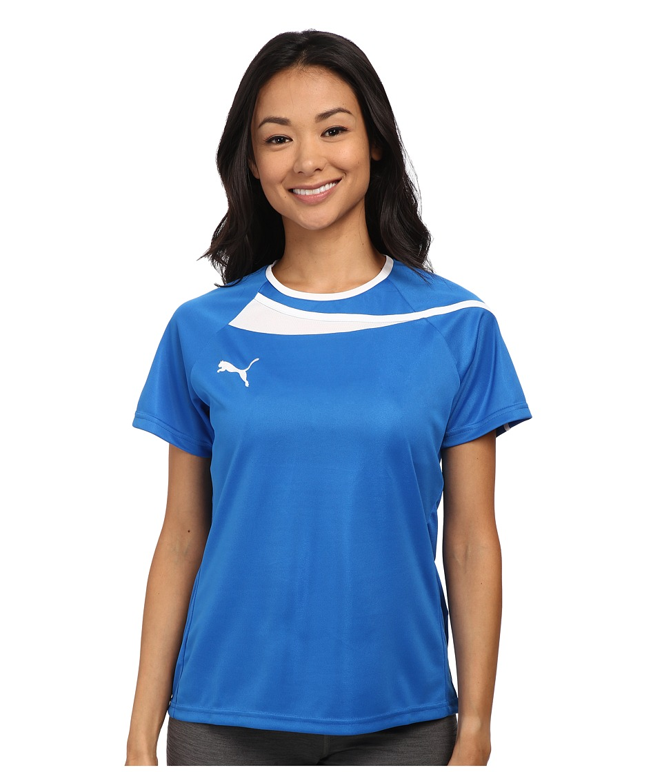 PUMA - Pulse Womens Jersey (Puma Royal/White) Women's Clothing
