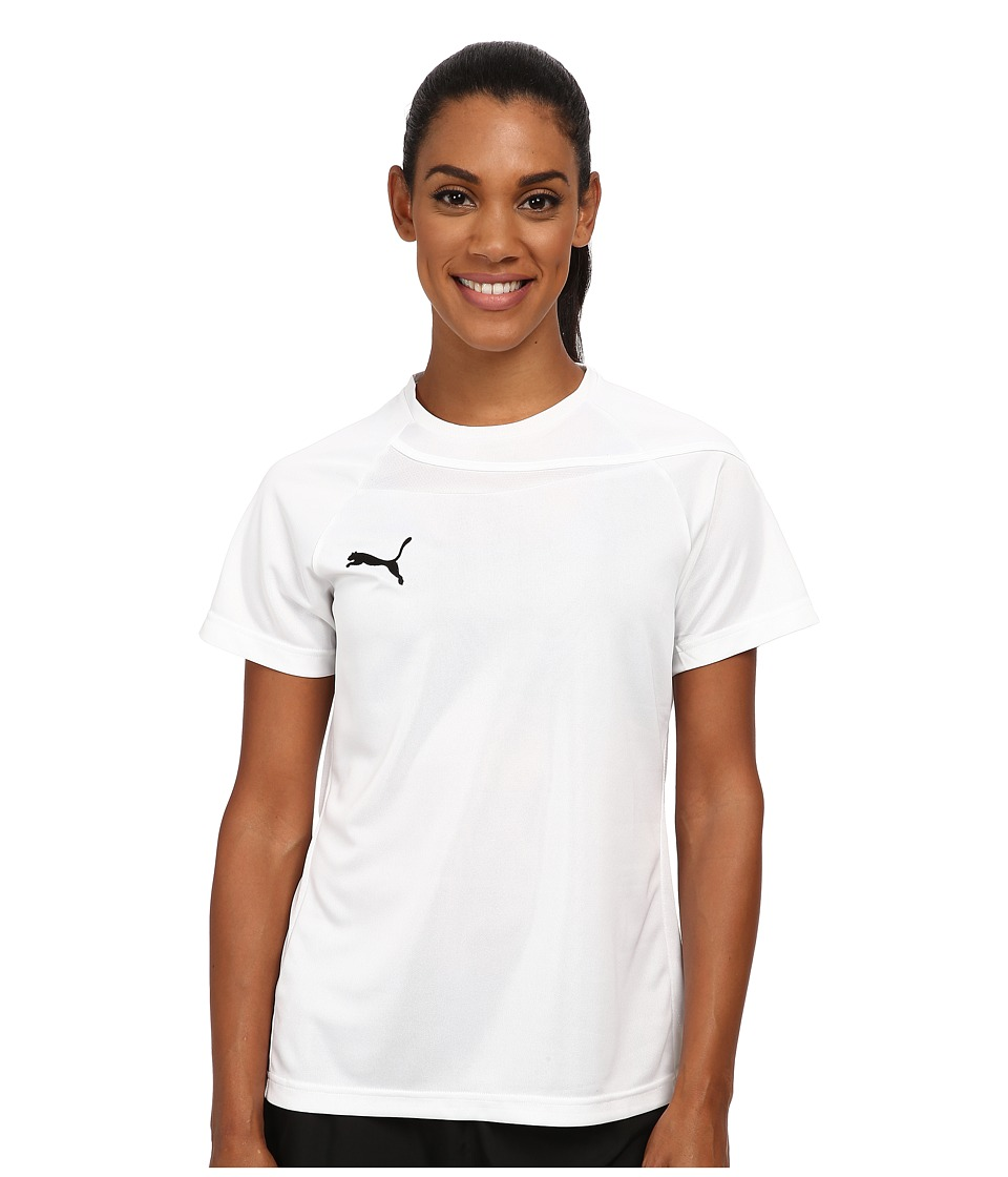 PUMA - Pulse Womens Jersey (White/White) Women's Clothing