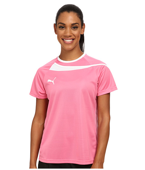 PUMA - Pulse Womens Jersey (Azalea Pink/White) Women's Clothing