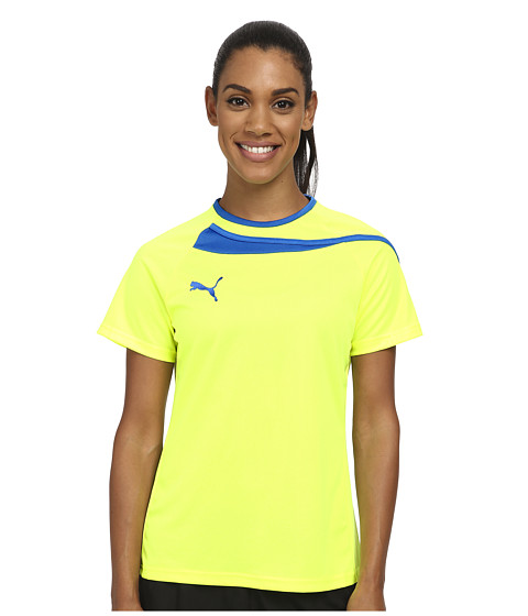 PUMA - Pulse Womens Jersey (Fluro Yellow/Puma Royal) Women's Clothing