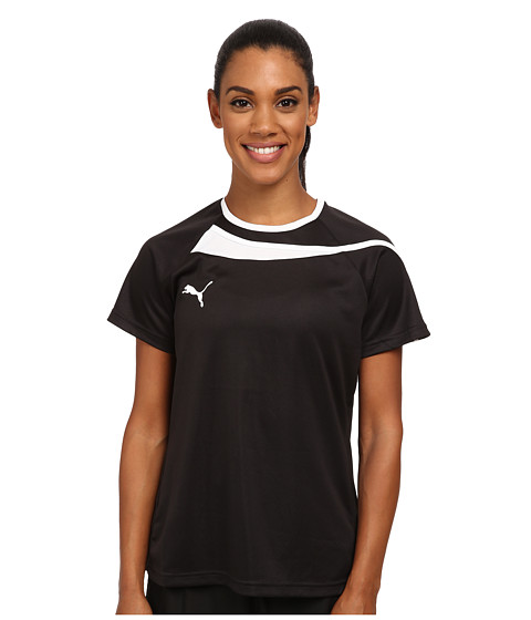 PUMA - Pulse Womens Jersey (Black/White) Women's Clothing