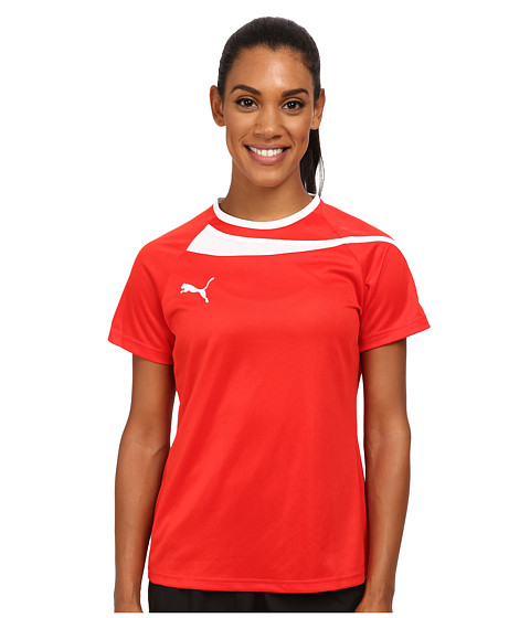 PUMA - Pulse Womens Jersey (Puma Red/White) Women's Clothing