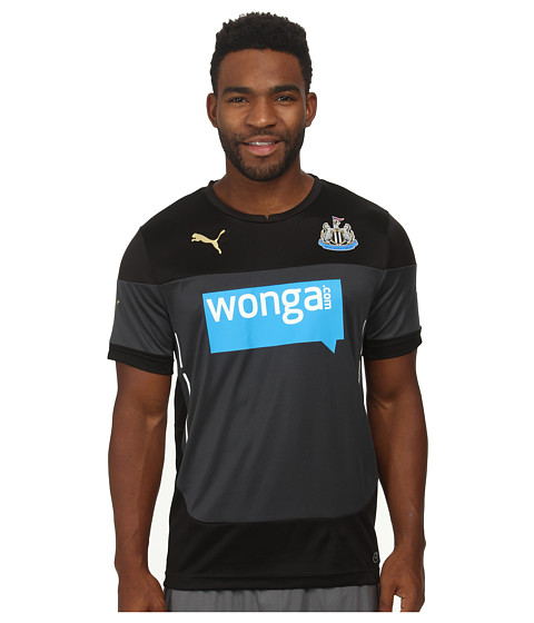 PUMA - Newcastle Training Jersey (Black/Ebony) Men's Clothing