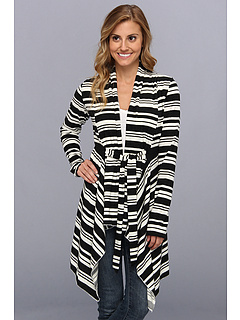 SALE! $18 - Save $54 on Lucy Love Stripe Delux Sweater (Ebony Stripe) Apparel - 75.00% OFF $72.00