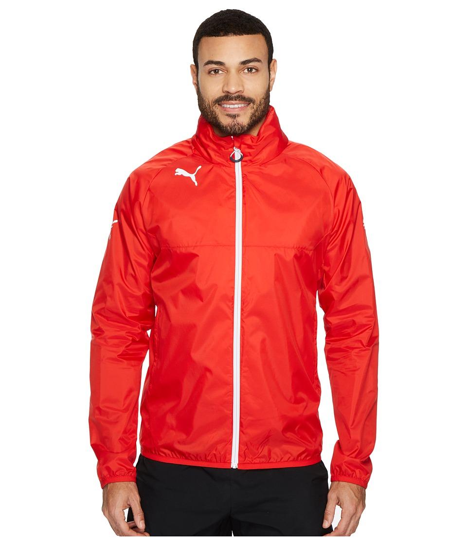 PUMA Rain Jacket (Puma Red/White) Men
