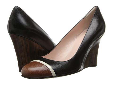 Kate Spade New York - Kev (Black Glazed Goat) Women's Shoes
