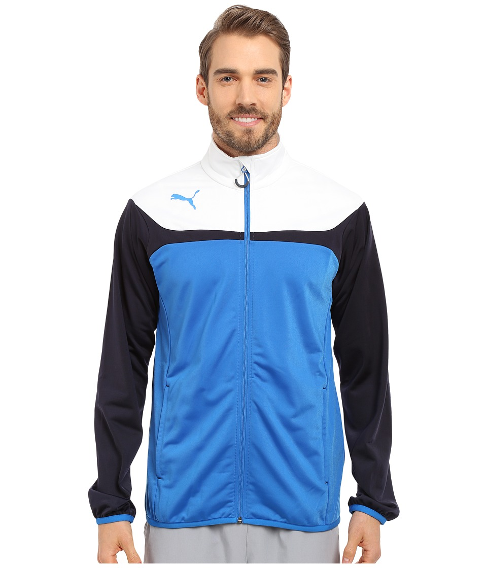 PUMA - Esito 3 Tricot Jacket (Puma Royal/White) Men's Jacket