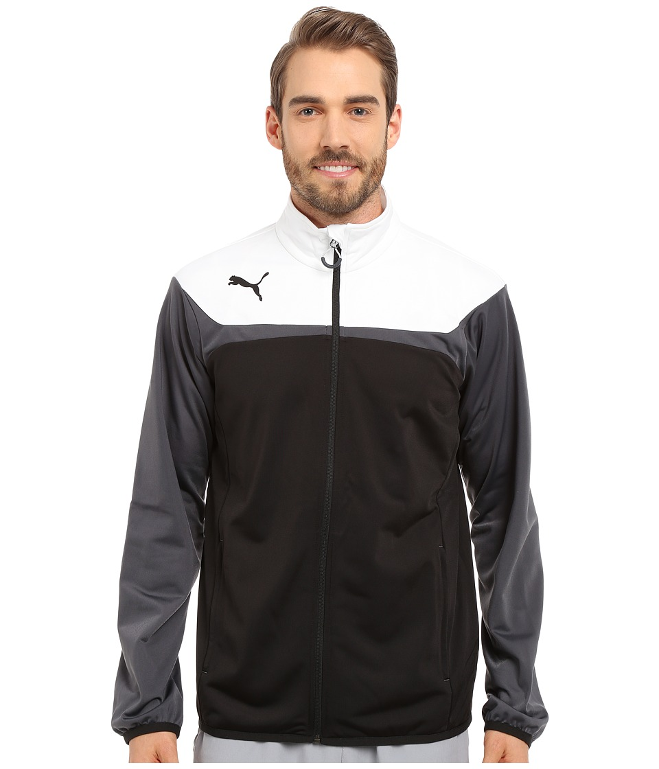 PUMA - Esito 3 Tricot Jacket (Black/White) Men's Jacket
