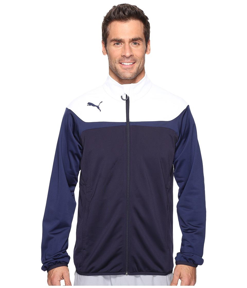 PUMA Esito 3 Tricot Jacket (New Navy/White) Men