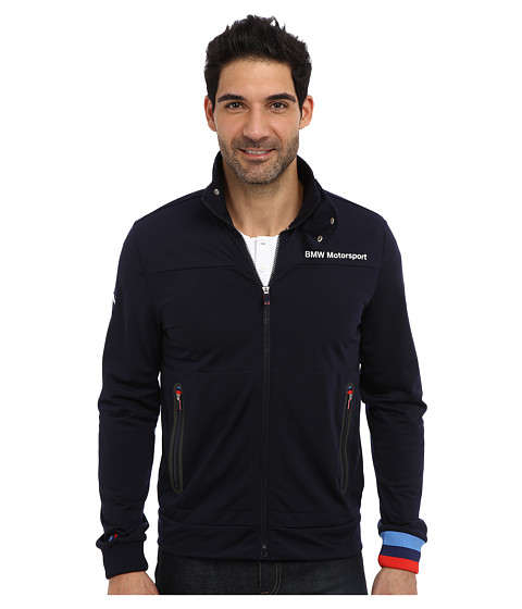 f159b7cc4abd ... Medium UPC 887704572138 product image for PUMA Bmw Msp Track Jacket (BMW  Team Blue) Men s