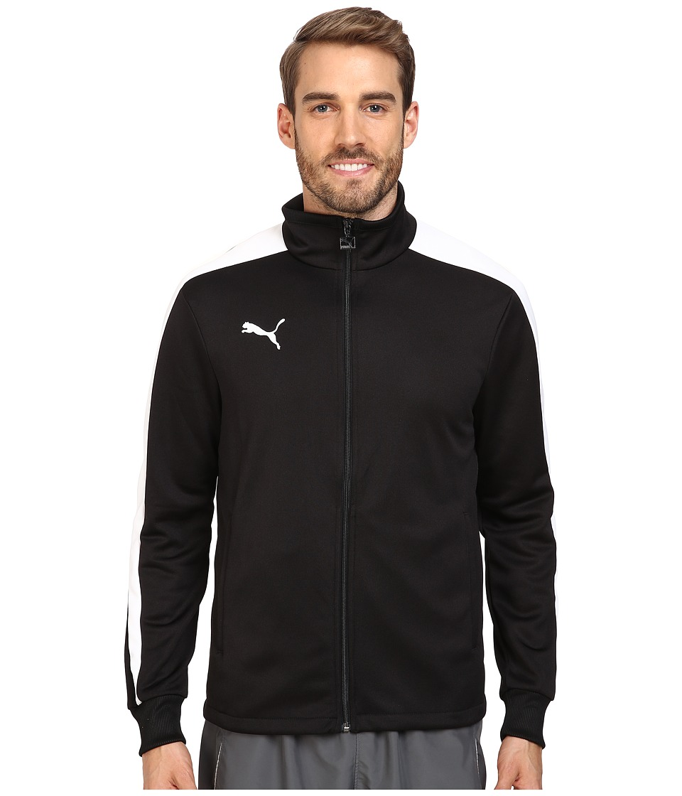 PUMA - Icon Walk Out Jacket (Black/White) Men's Jacket
