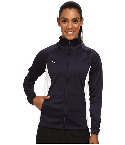 PUMA - Hergame Walkout Jacket (New Navy/White) Women's Jacket