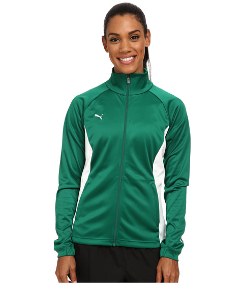 PUMA - Hergame Walkout Jacket (Power Green/White) Women