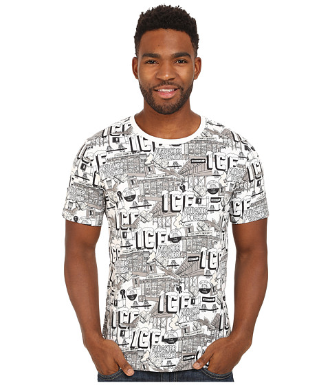 PUMA - Sophia Chang Tee (White/All-Over Print) Men