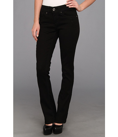 Seven7 Jeans Rocker Slim in Rinse Black (Rinse Black) Women's Jeans