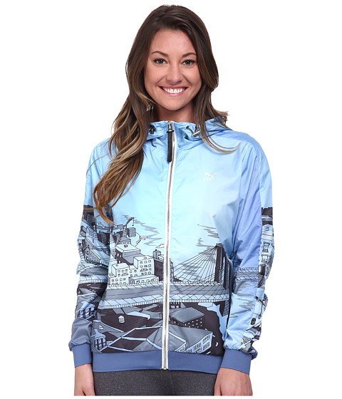 PUMA - Sophia Chang Wind Jacket (Bijou Blue) Women