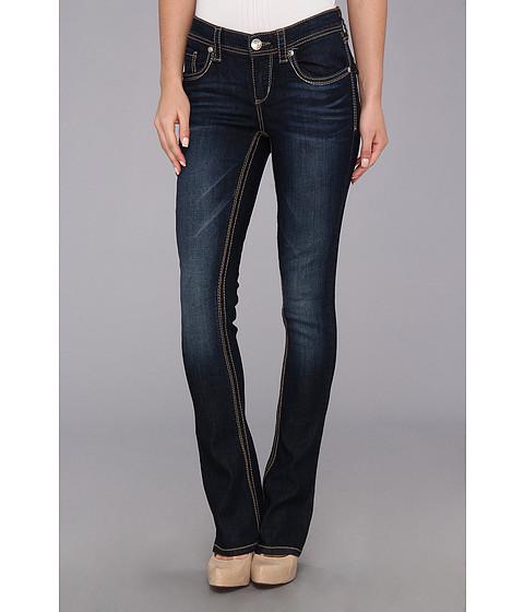 Seven7 Jeans Rocker Slim w/ Flap in Reborn (Reborn) Women's Jeans
