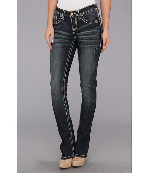 Seven7 Jeans Rocker Slim in Space Hog (Space Hog) Women's Jeans