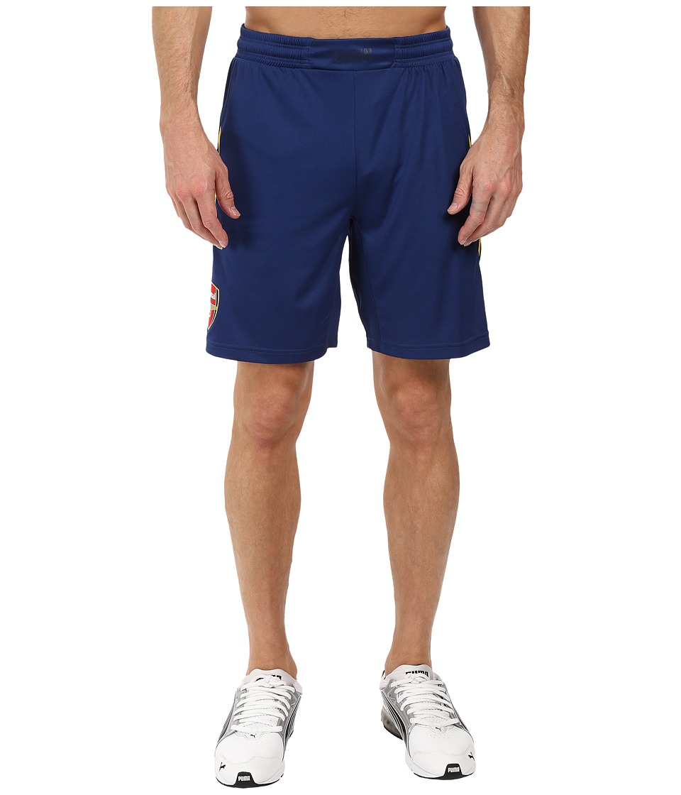 PUMA - Afc Replica Shorts (Estate Blue/Empire Yellow) Men's Shorts