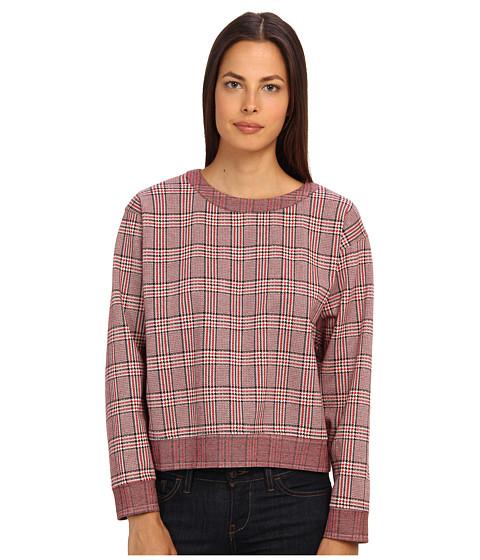 See by Chloe - L/S Sweatshirt (Red/Black/White) Women's Sweatshirt