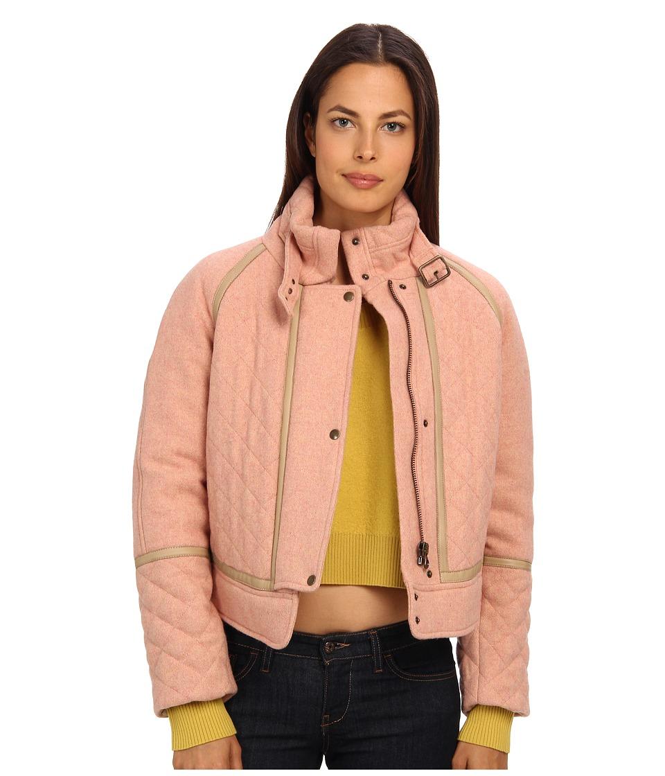 See by Chloe - Bomber Jacket (Peach Blossom) Women