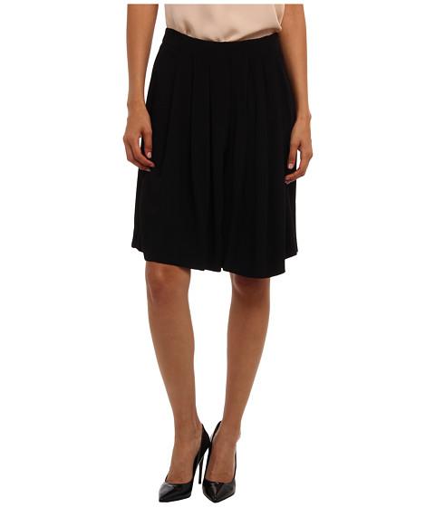 See by Chloe - Pleated Midi Skirt (Black) Women's Skirt