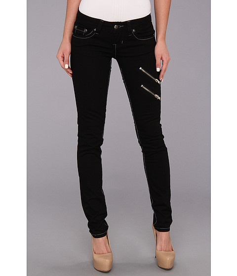 Antique Rivet - Joanna - Juniors Jeans in Jet Black (Jet Black) Women's Jeans