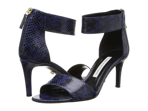 Diane von Furstenberg - Kinder (Dark Knight Watersnake) High Heels