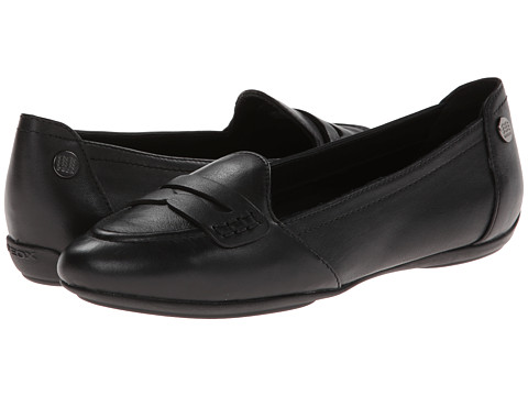 Geox - D Charlene (Penny) (Black Oxford) Women's Shoes