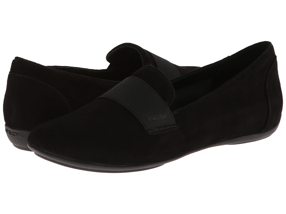 Geox D Charlene (Gored) (Black Oxford) Women