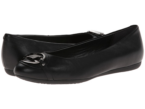 Geox - D Lola (Toe Ornament) (Black Oxford) Women's Flat Shoes