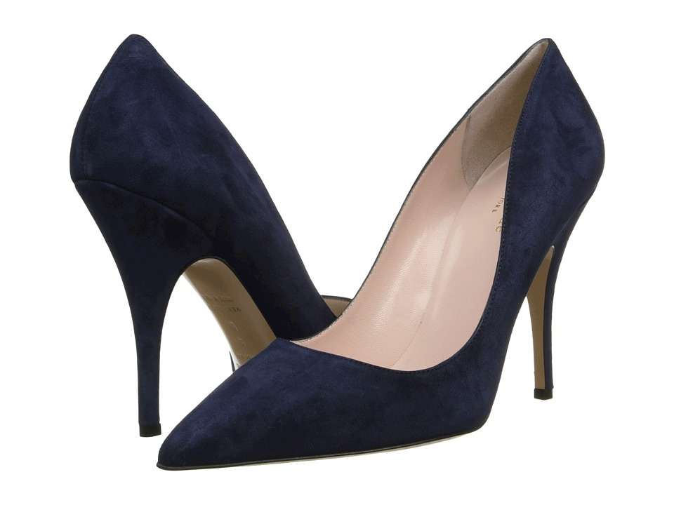 Kate Spade New York - Licorice (Navy Suede) High Heels