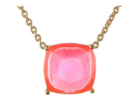 Kate Spade New York - Cause A Stir Mini Pendant Necklace (Pink) Necklace
