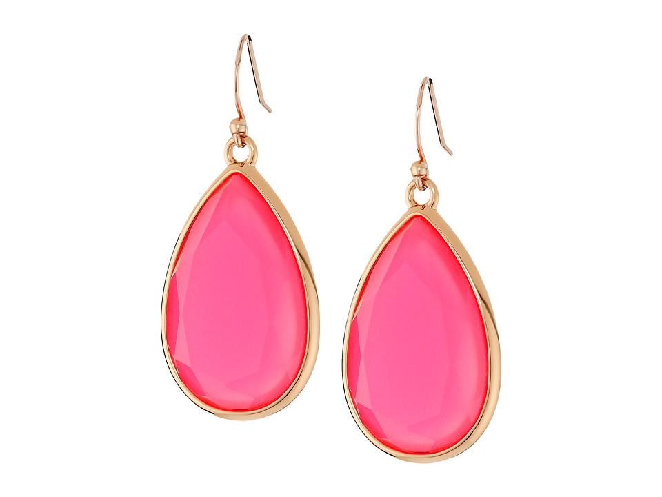 Kate Spade New York - Day Tripper Earrings (Flo Pink) Earring