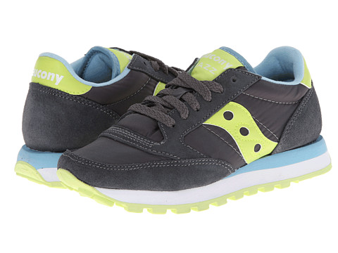 Saucony Originals - Jazz Original (Charcoal/Light Green) Women's Classic Shoes