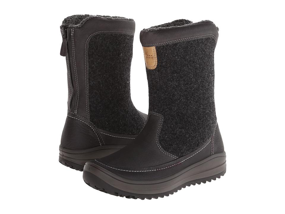 ECCO Sport - Trace Zip (Moonless/Moonless) Women's Boots