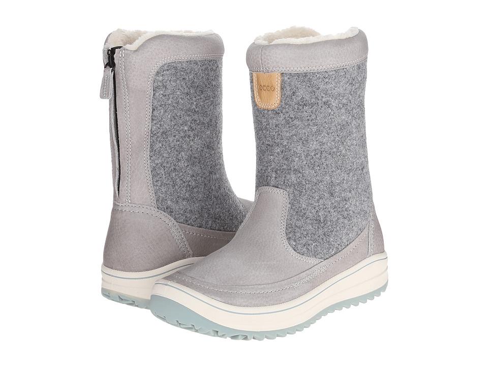 ECCO Sport - Trace Zip (Wild Dove/Titanium) Women's Boots