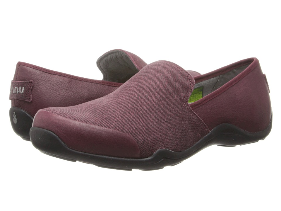Ahnu - Penny (Red Mahogany) Women's Slip on Shoes