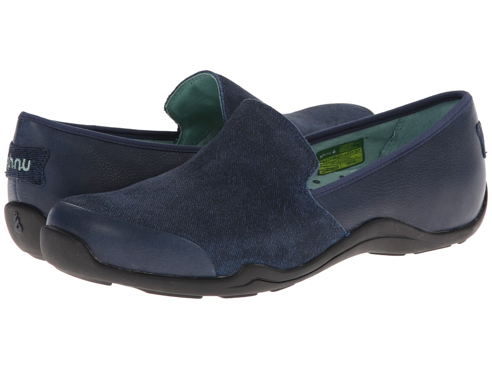 Ahnu - Penny (Dress Blue) Women's Slip on Shoes
