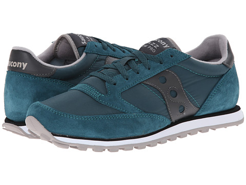 Saucony Originals - Jazz Low Pro (Dark Teal) Men