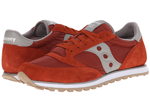 Saucony Originals - Jazz Low Pro (Red/Grey) Men