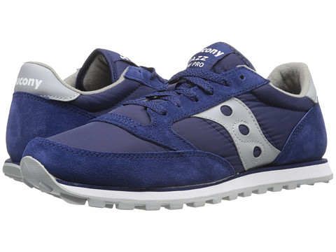 Saucony Originals - Jazz Low Pro (Blue/Grey) Men's Classic Shoes