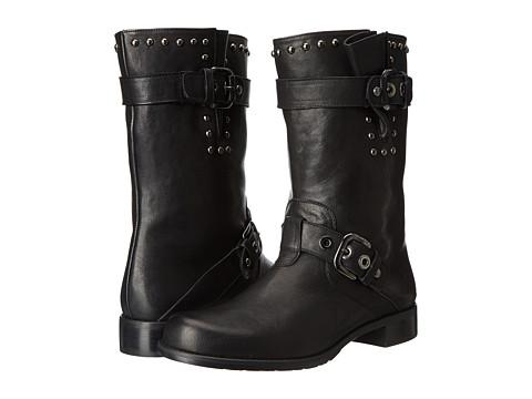 Stuart Weitzman - Trotter (Black Vecchio Nappa) Women's Pull-on Boots