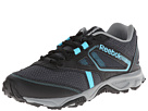 Reebok Trail Voyager RS (Black/Flat Grey/Neon Blue/Graphite/Steel) Men's Shoes
