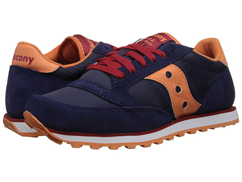 Saucony Originals - Jazz Low Pro (Navy/Orange) Women