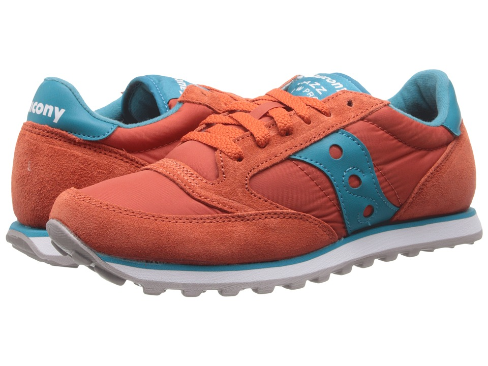 Saucony Originals - Jazz Low Pro (Orange/Teal) Women
