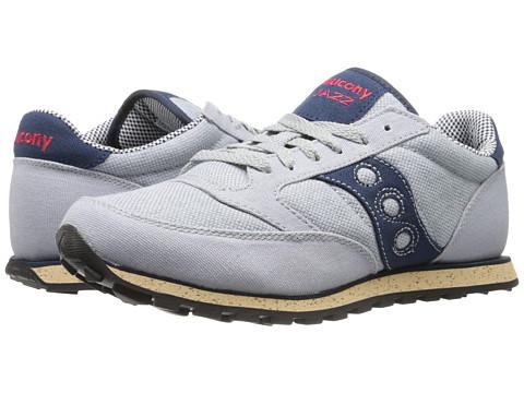 Saucony Originals - Jazz Low Pro Vegan (Grey/Blue 54) Men's Classic Shoes
