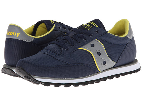 Saucony Originals - Jazz Low Pro Nylon (Navy) Men's Classic Shoes