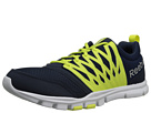 Reebok Yourflex Train 5.0 MT (Collegiate Navy/High Vis Green/Silver Metallic/White) Men's Running Shoes