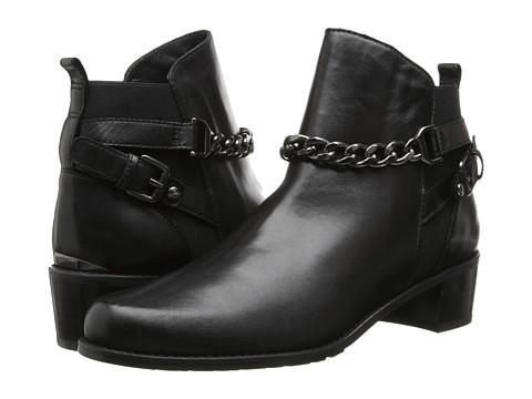 Stuart Weitzman - On The Street (Black Nappa Leather) Women's Pull-on Boots